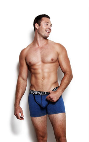 Marco Marco - Core Boxer Brief Blue Heather