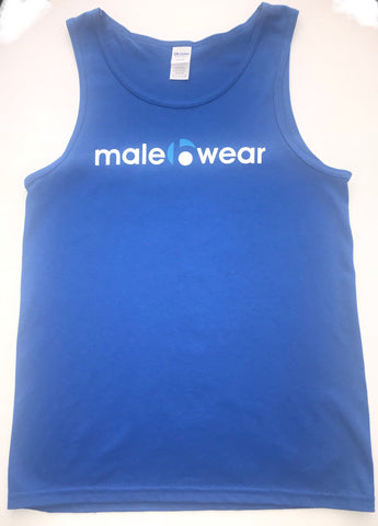 Male B Wear - Tank Top (Blue)