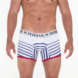 Perseus - Troy Boxer Brief White Blue