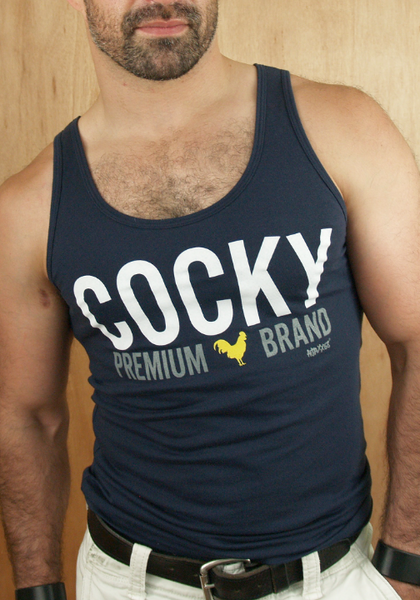 AJAXX63 - Cocky Tank Top