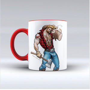 Huntees Lumberjack Mug