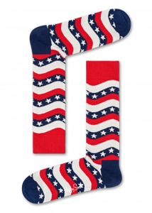 Happy Socks - Wavy Stars & Stripes