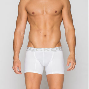 Reckon - Low Rise Boxer Brief (White)