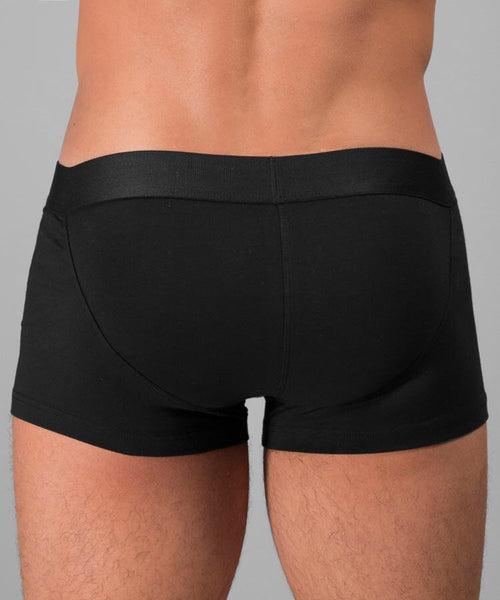 Rounderbum Lift Boxer Trunk - Black