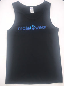 Male B Wear - Tank Top (Black)