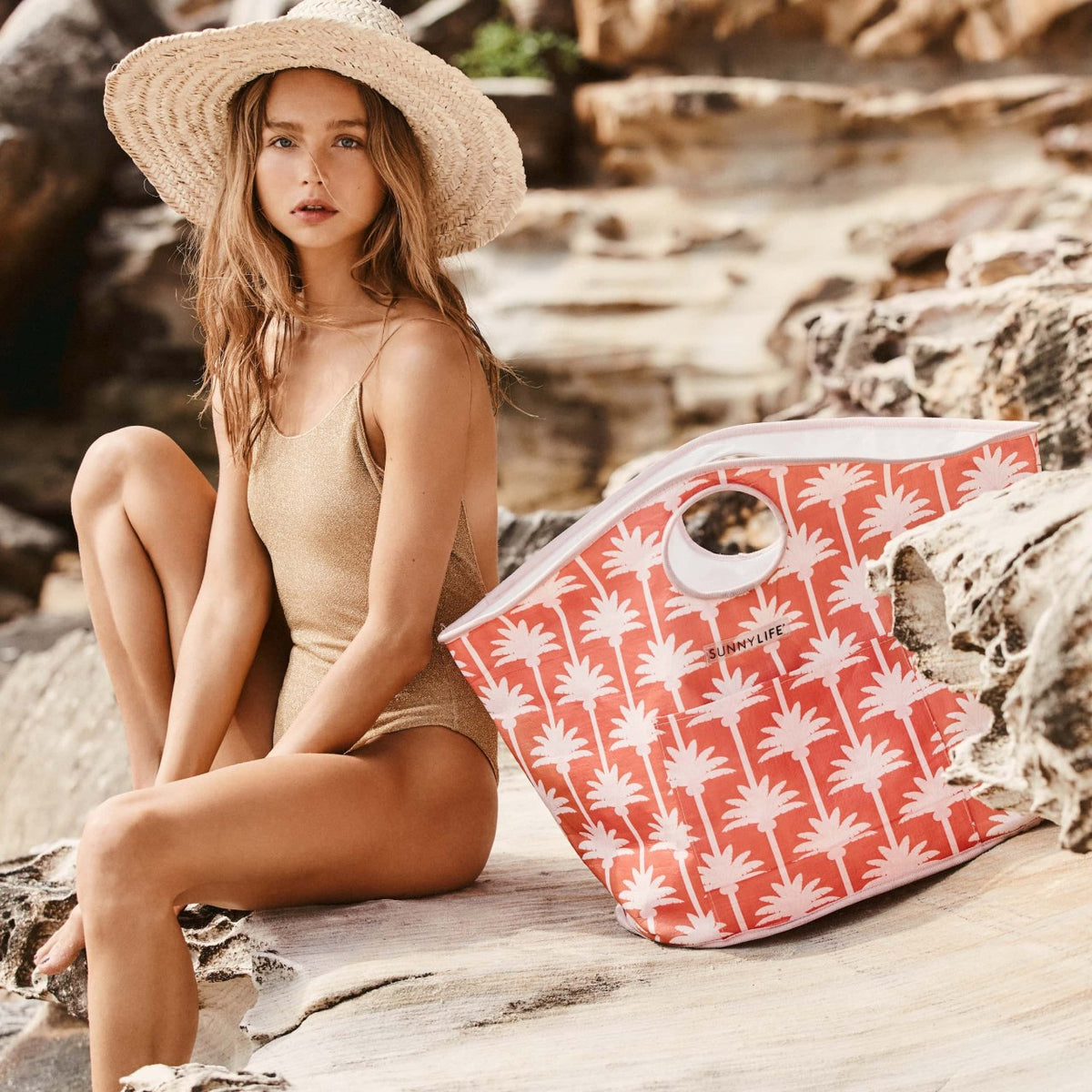 Carryall Bag | Kasbah Coral