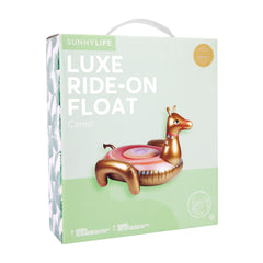 Sunnylife | Luxe Ride-On Float | Camel