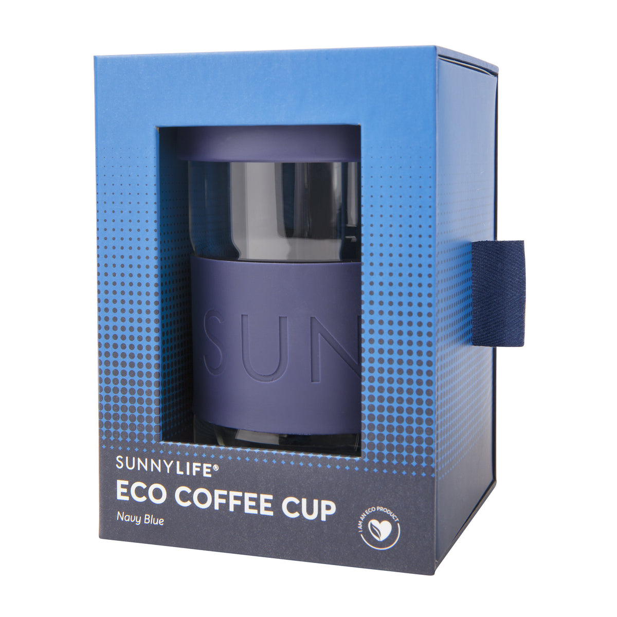 Sunnylife | Eco Coffee Cup | Navy Blue