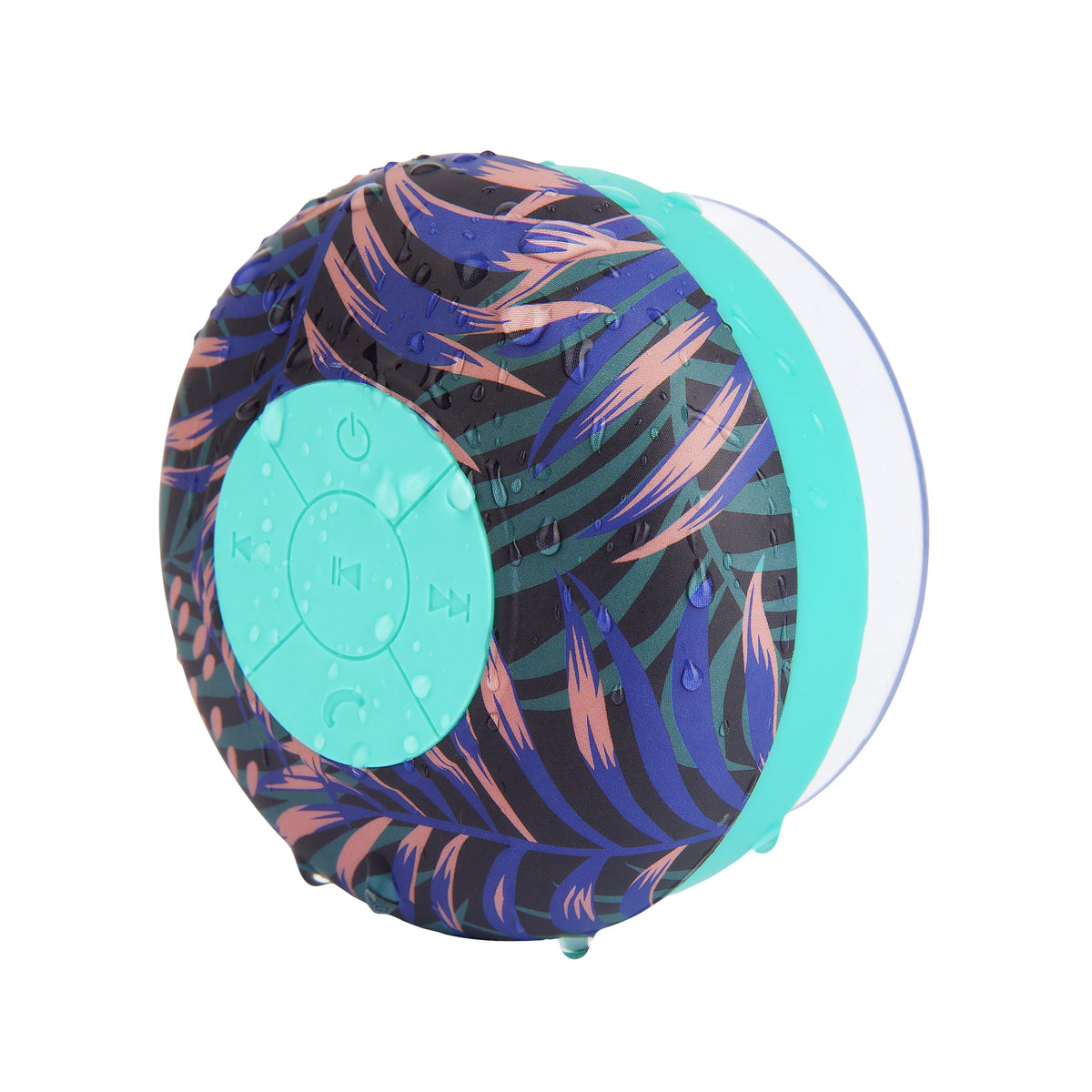 Sunnylife | Shower Bluetooth Speaker | Electric Bloom Navy Blue