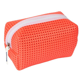 Refresh Cosmetic Bag | Neon Coral