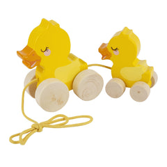 Sunnylife | Push n Pull Toy | Ducky Family