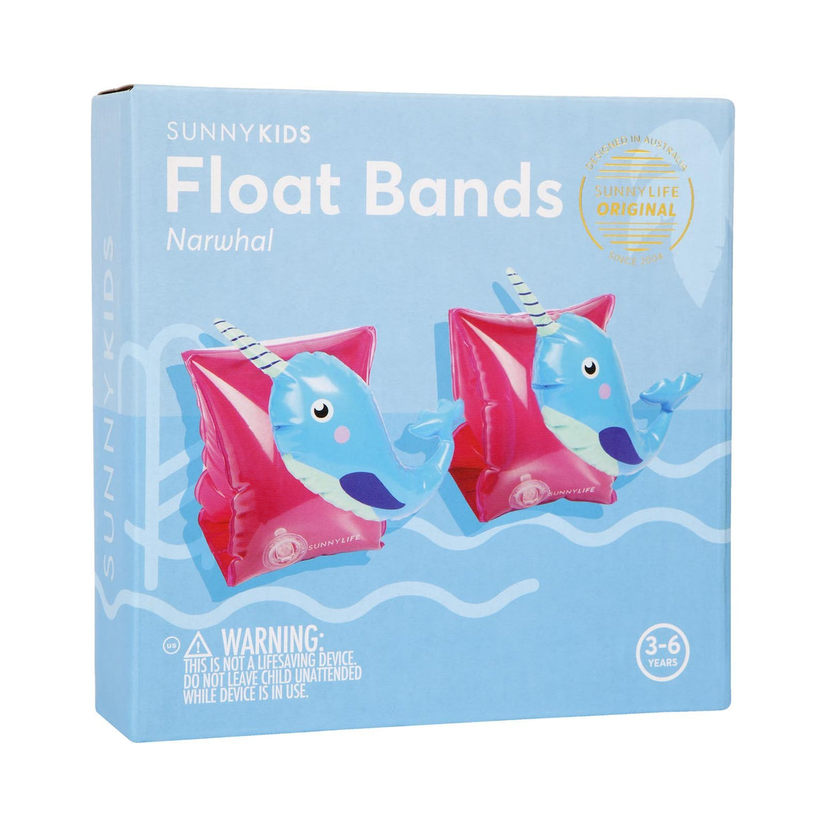 Sunnylife | Float Bands | Narwhal