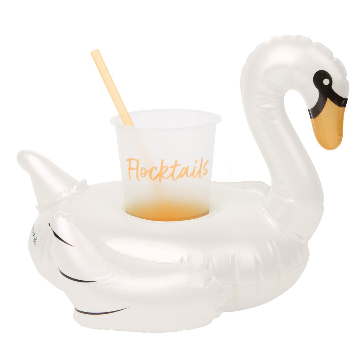 Sunnylife | Inflatable Drink Holder | Swan Pearl