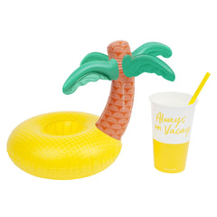 Inflatable Drink Holders Luxe | Pina Colada