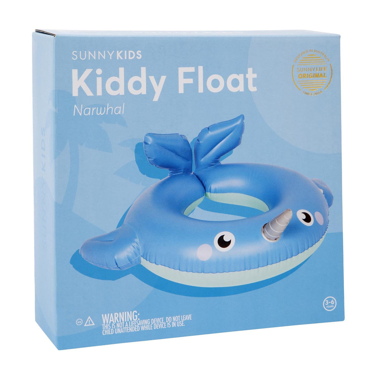 Sunnylife | Kiddy Float | Narwhal
