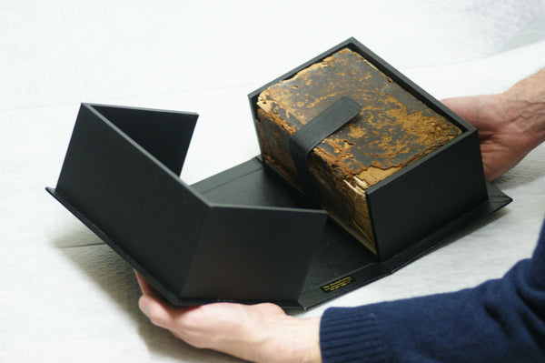 Protective Box made by The Bookbindery for German family Bible (1723)