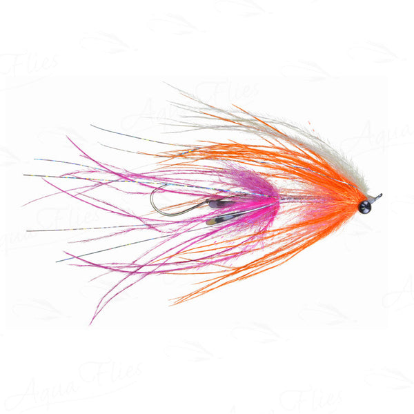 Jerry French's Intruder fly pink/orange