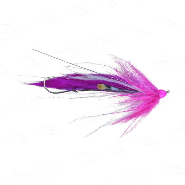 fly fishing for steelhead with Dirty Hoh Pink