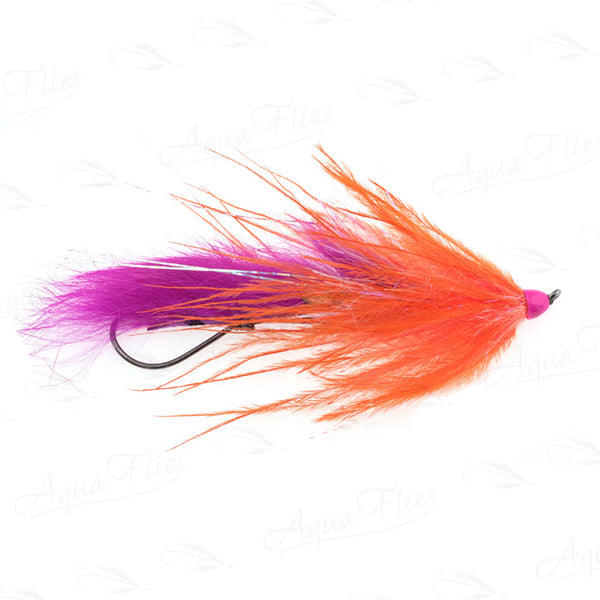 Dirty Hoh steelhead fly by Jerry French