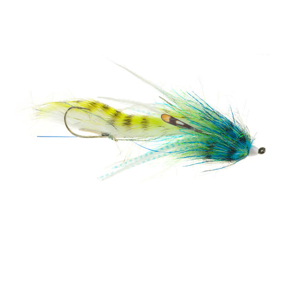 Jerry French Mini Dirty Hoh blue chartreuse