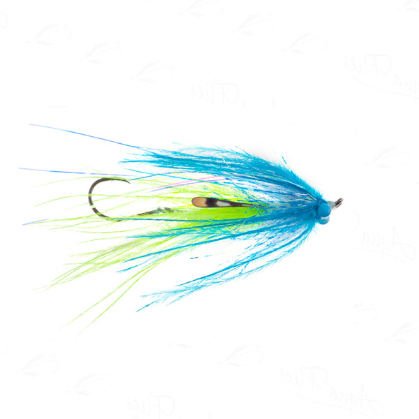 Jerry's Ultra Mini-Intruder •Blue/Chartreuse•