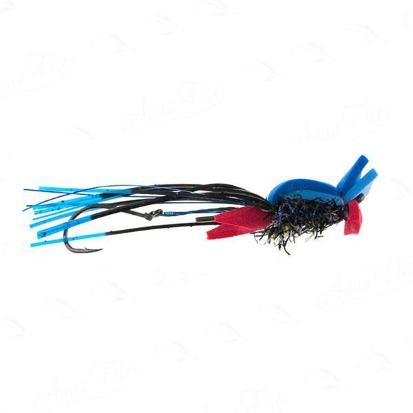 Waker Maker Black/Blue skater fly by Jerry French
