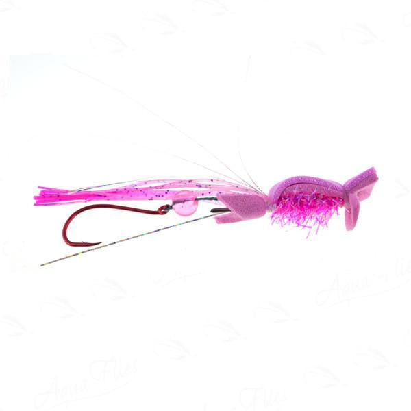 Jerry French Waker Maker Pink skater fly