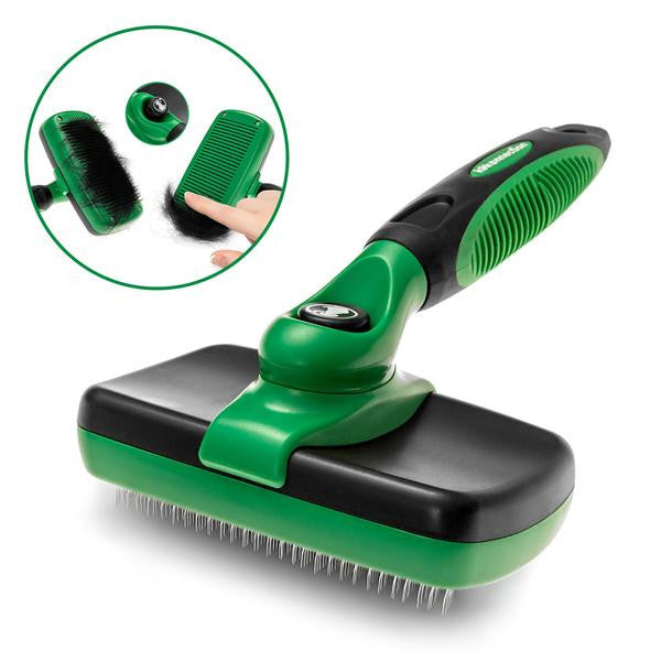 Reduce Shedding - Self-Cleaning Slicker Brush