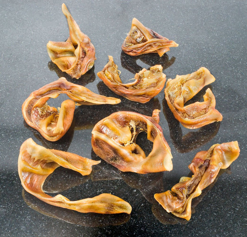 K9warehouse Pig Ears Strips Treats for Dogs -All Natural