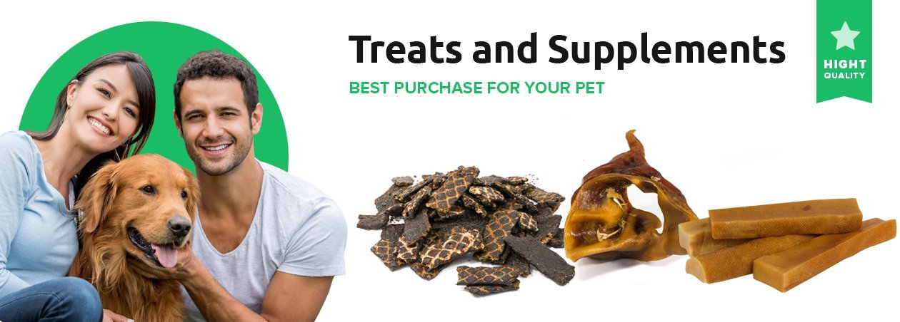 Dog Treats and Pet Supplements | Free Shipping