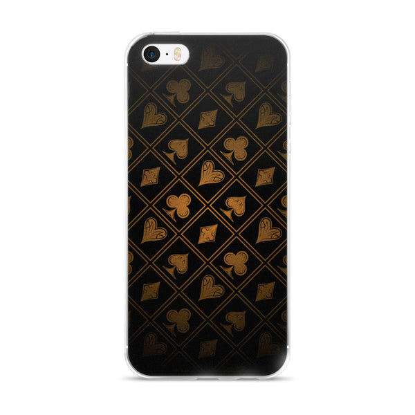 iPhone Cases - Gold Suits - Premium Poker Player Hoodies, Jackets, & T-Shirts | GrindPoker