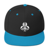Clubs Embroidered Snapback Hat