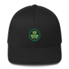 Clover Embroidered Flexfit Baseball Hat