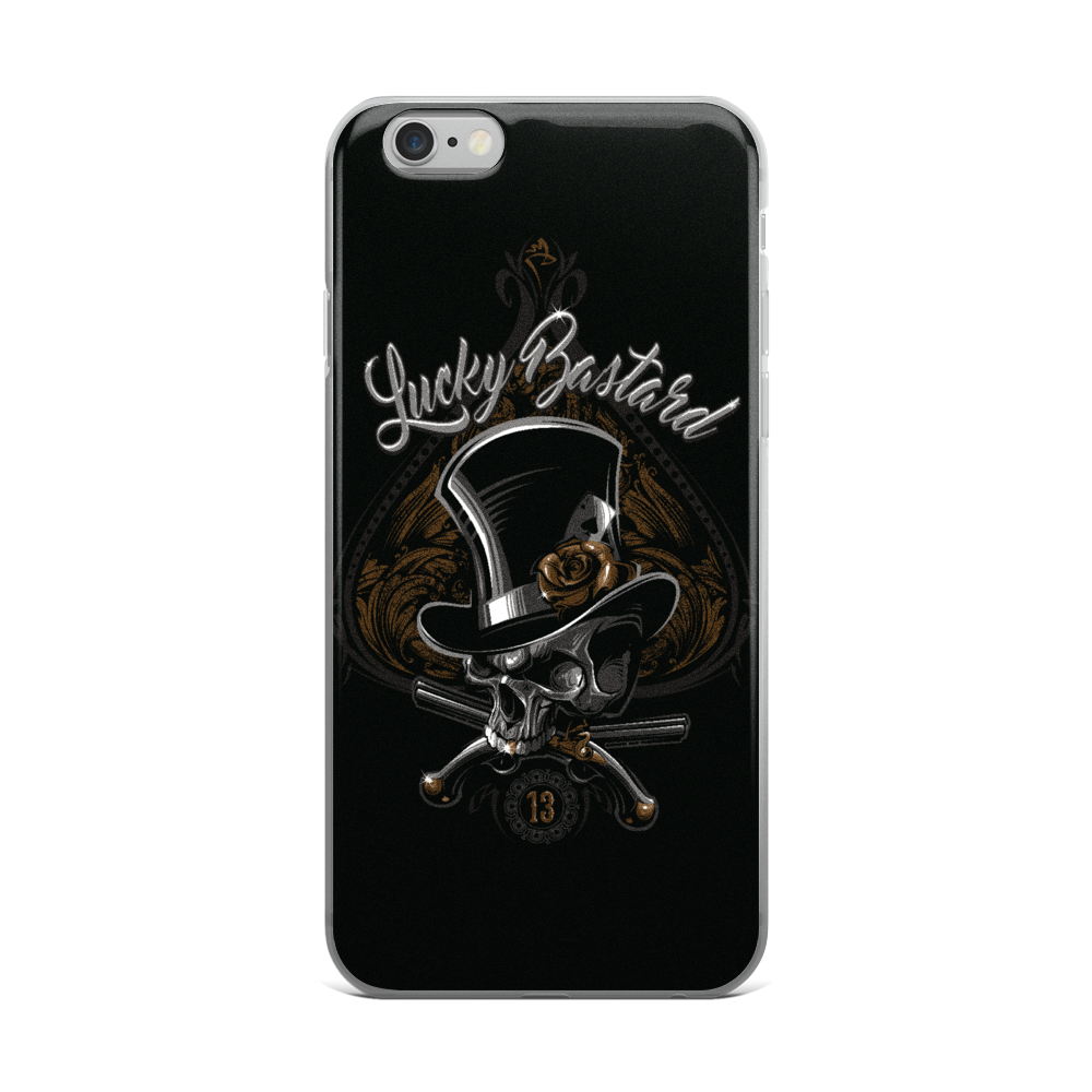 iPhone Cases - Lucky Bastard - Premium Poker Player Hoodies, Jackets, & T-Shirts | GrindPoker