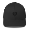 Hearts Embroidered Flexfit Hat