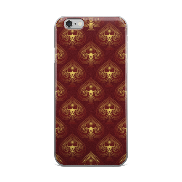iPhone Cases - Rose Spades - Premium Poker Player Hoodies, Jackets, & T-Shirts | GrindPoker