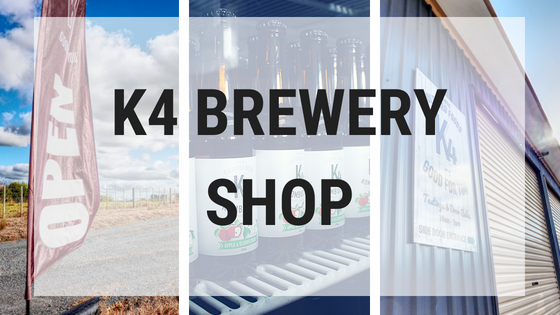 K4 brewery shop open flat retail cultured fermented