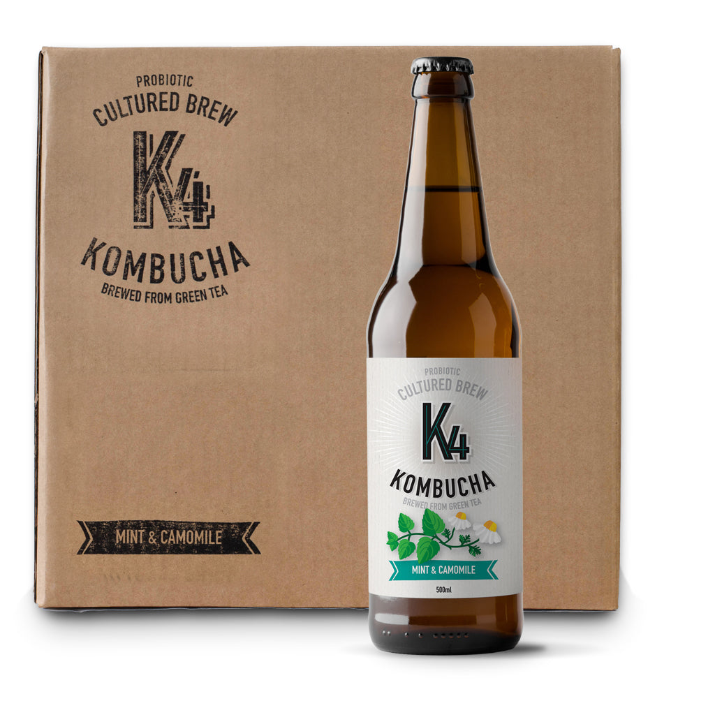 K4 Kombucha Large Case (12 x 500ml bottles)