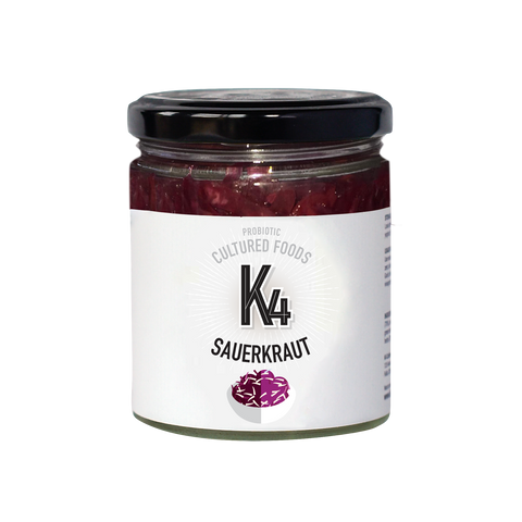 K4 Cultured Ruby Sauerkraut - 150g
