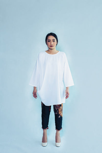 Maimuna Top in White