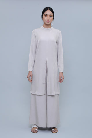 Camelia Kurta Top in Nude