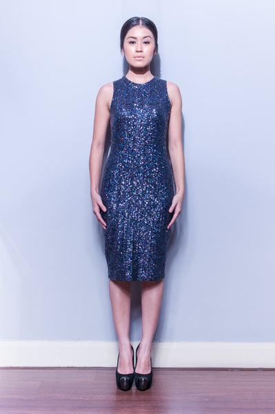Sequin Fitted Dress