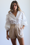 Sia Black Sunglasses Chain - LUVH
