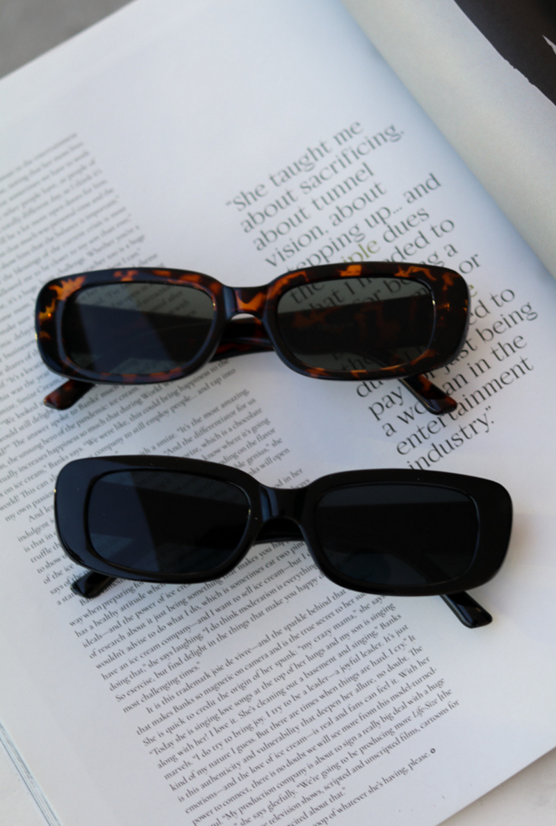 Cassis Black Sunglasses