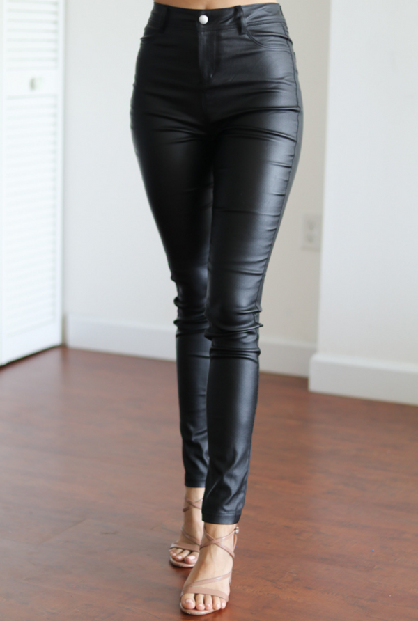 Estelle Vegan Leather Pants