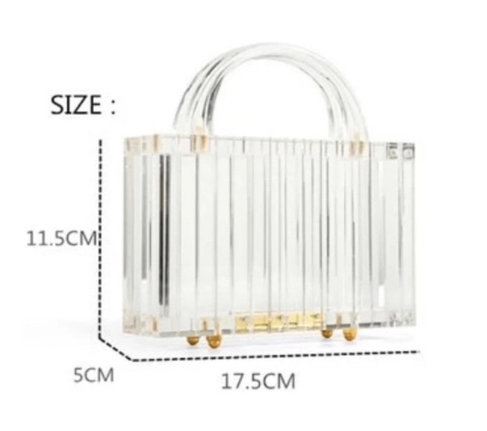 Adina Clear Bag - LUVH