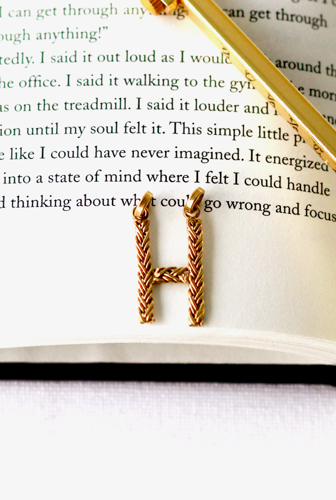 Crux Braided Initial Necklace