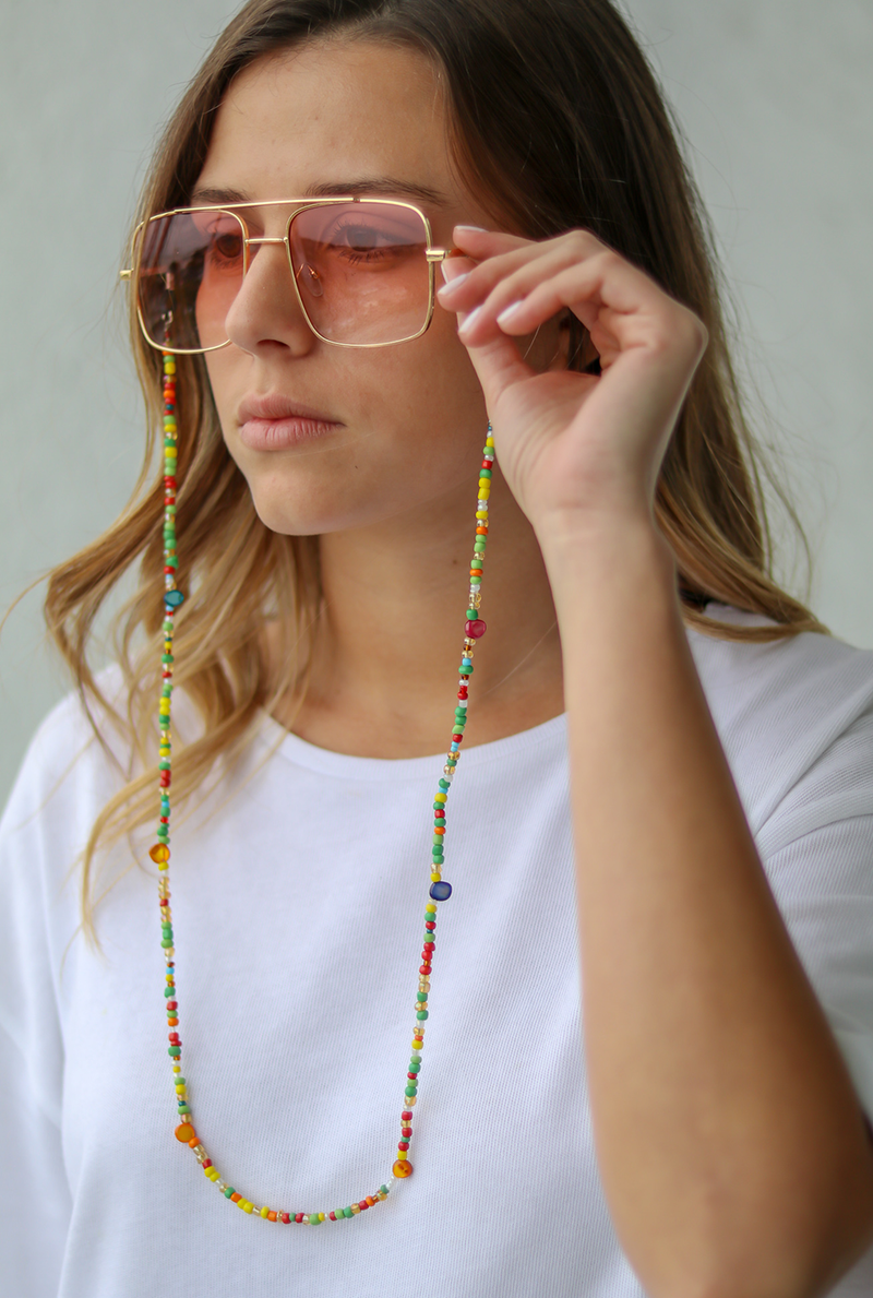 Yasmine Sunglasses Chain - LUVH
