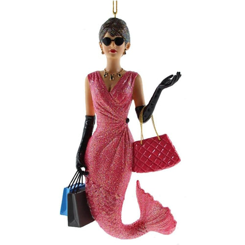 December Diamonds Miss Fashionista Mermaid Ornament