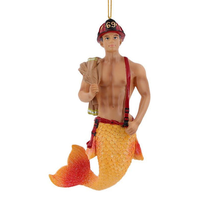 December Diamonds Back Draft Merman Ornament